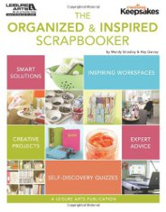 Organized and Inspired Scrapbooker for Scrapbook Room Design