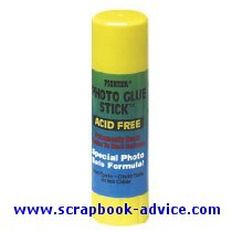 Scrapbook Adhesive Glue Stick