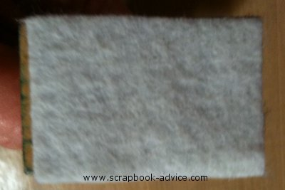 Alcohol Ink Blending tool Felt Pads that attached to the tool with Velcro