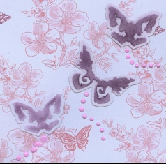 Baby Butterflies Scrapbook Embellishments