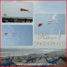 Beach Photography Tips and Tricks for Scrapbook Layouts