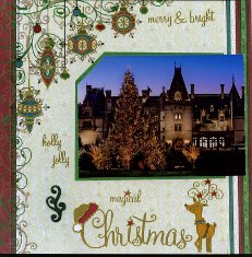 Biltmore Estate Scrapbook Layout Ideas