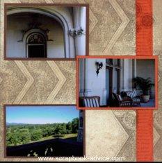 Biltmore Estate Scrapbook Layout
