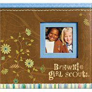 Brownie Scout Scrapbook Album