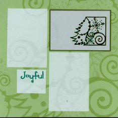 Christmas Scrapbook Layouts with Club Scrap Papers