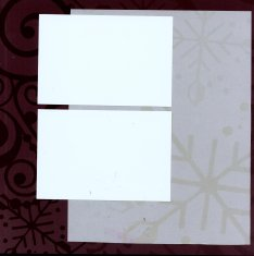 Christmas Scrapbook Layouts with Club Scrap Paper