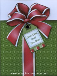 Card Shaped Front from Personal Shopper