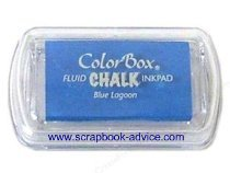 Scrapbook Chalk Fluid Mini Pad by Color Box