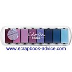 Scrapbook Chalk Ink Paint Box Collection