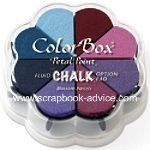 Scrapbook Chalk Petal Point Blossom