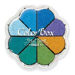 Scrapbook Chalk Ink Petal Point Ocean Breeze