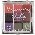 Scrapbook Decorating Chalk #2 package of 9 colored chalks
