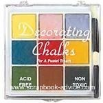 Scrapbook Decorating Chalk #3 package of 9 colored chalks