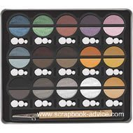 Metallic Cream Scrapbook Art Chalks