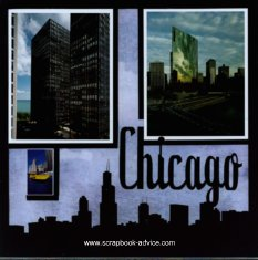 Chicago Scrapbook Layout Ideas