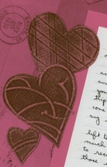 Chocolate Box Valentine Hearts Core'dinations Cardstock