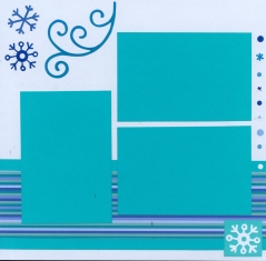 Christmas Scrapbook Layout Doodle Bug Essentials