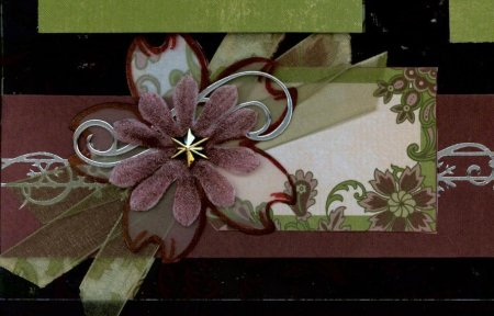 Christmas Scrapbook Layout Personal Shopper Embellishment