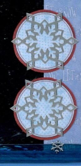 Christmas Scrapbook Layout Personel Shopper Kit Embellishment