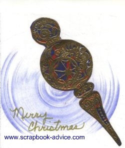 Cloisonne Ornament Card 3