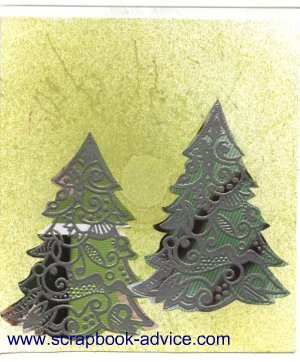 Cloisonne Tree Card 10