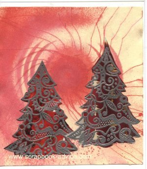 Cloisonne Tree Stamp Card 3