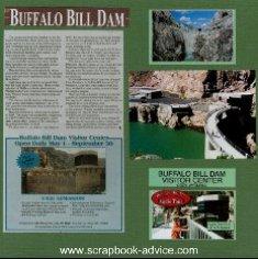 Cody Wyoming Western Scrapbook Layout