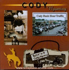 Cody Wyoming Scrapbook Layout & Embellishment Ideas