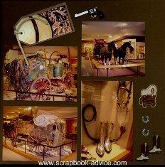 Cody Wyoming & Western Scrapbook Layout & Embellishment Ideas