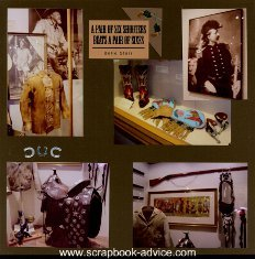 Cody Wyoming & Western Scrapbook Layout & Embellishment Ideas