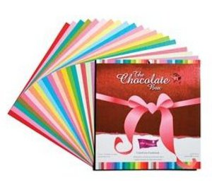 Coredinations Chocolate Box Color Core paper for scrapbooking