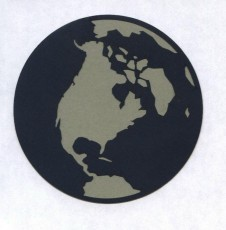 Large Earth Die Cut