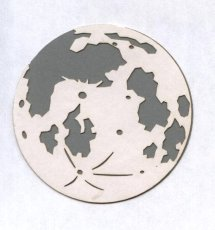 Small Earth Die Cut