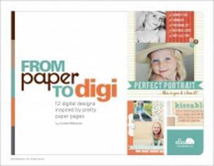 Ella Scrapbook Publication Paper to Digi cover photo