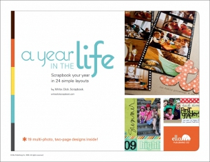Ella Publishing A Year in the LIfe Scrapbook