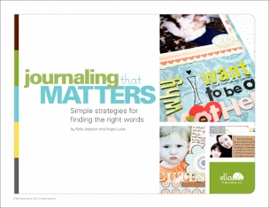Ella's e-book Journaling That Matters