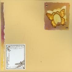 Glimmer Mist Scrapbook Background