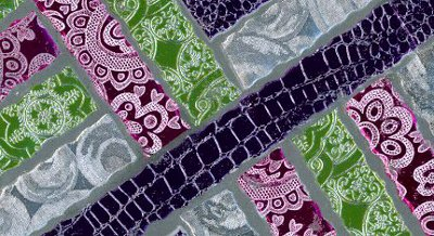 Iris Folding Papers used for Bargello Art Work