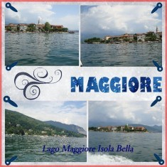 Italian Vacation Digital Scrapbook Layouts