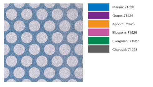 POW Gitter Paper from American Crafts Medium Glitter Dots Pattern