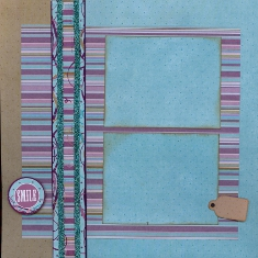Personal Shopper Scrapbook Layout May 2010