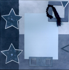 Personal Shopper Scrapbook Layout July 2009