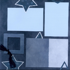 Personal Shopper Scrapbook Layout July 2
