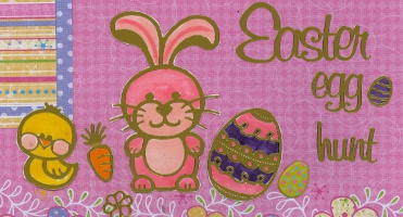 Personal Shopper Scrapbook Layout April 2010