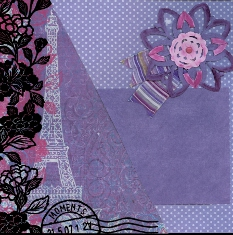 Personal Shopper Scrapbook Layout Kits April 2010