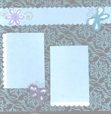 Personal Shopper Scrapbook Layout Jan 2010