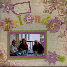 Personal Shopper Scrapbook Layouts Aug 09