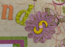 Personnal Shopper Scrapbook Layout Aug 09
