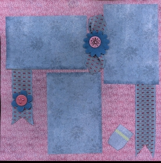 Personal Shopper Scrapbook Layouts Feb 2010
