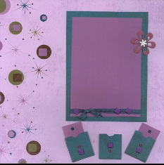 Personal Shopper Scrapbook Layout Nov 2006